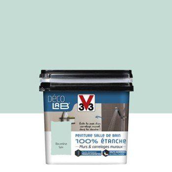 Peinture Décolab 100 étanche V33 Bleu Embrun 075 L