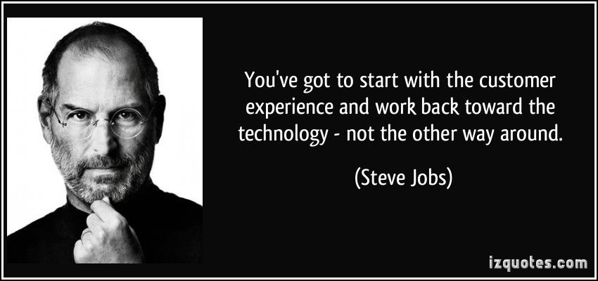 Steve Jobs Steve Jobs Steve Jobs Quotes Experience Quotes