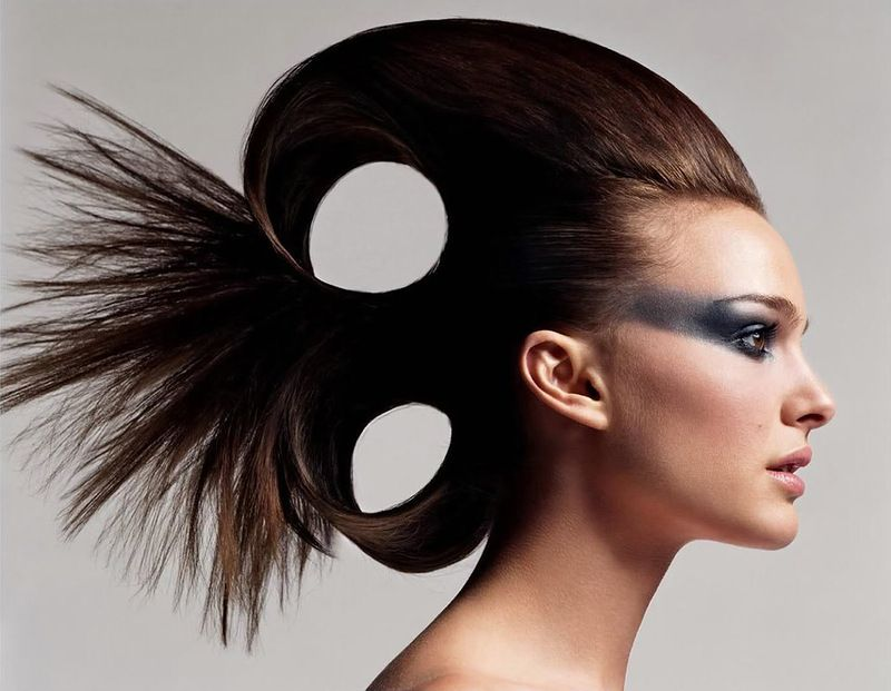 Avant-Garde Hair   Updo Avant Garde Hairstyle   You Board ...
