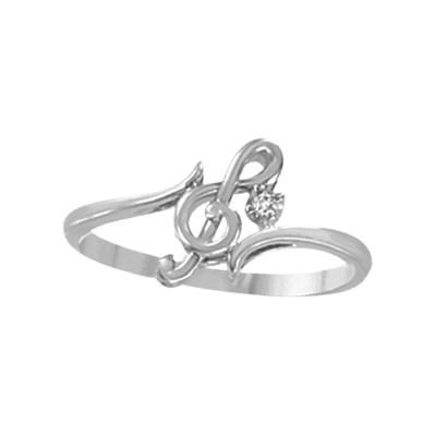 Musical Note With Diamond Promise Ring Jewels In 2018