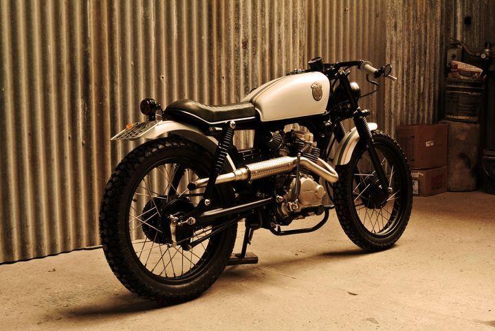 Populaire Yamaha YBR 125 cafe racer | Custom motorcycles | Pinterest | Cafes  UM56