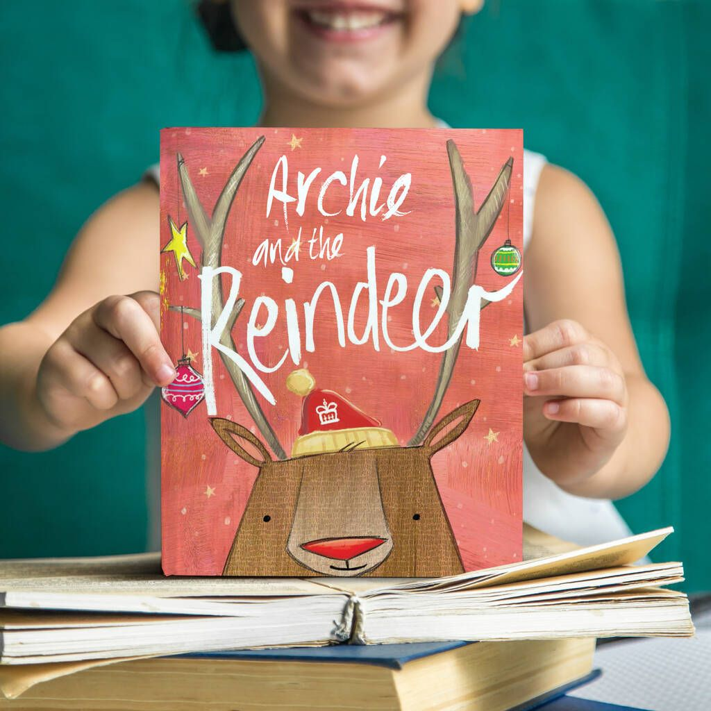 Personalised Christmas Reindeer Story Book in 2020 | Christmas