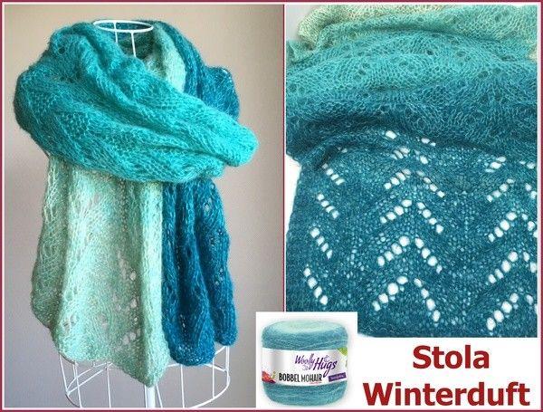 Photo of Knit Stole // Lace Pattern // Bobbel // DIY