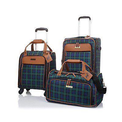 Jeffrey Banks 3-piece Luggage Set | #TravelwithHSN | Pinterest
