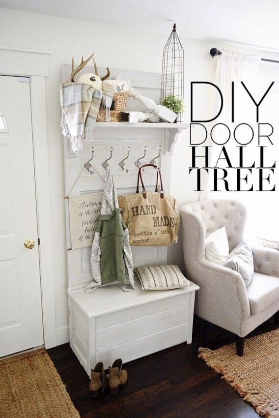 17 Diy Mudroom Amp Entryway Storage Ideas For Very Small