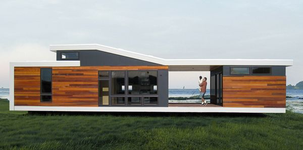 prefab modern homes | ... , modern prefab home during the exciting ...