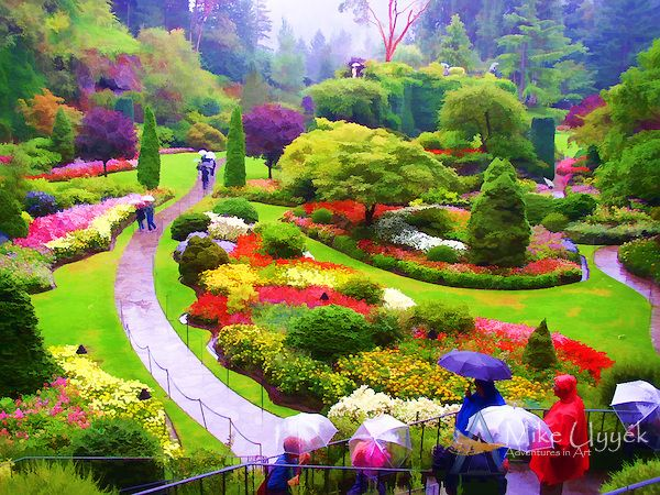 butchart gardens pictures - Google Search Beautiful place to visit ...