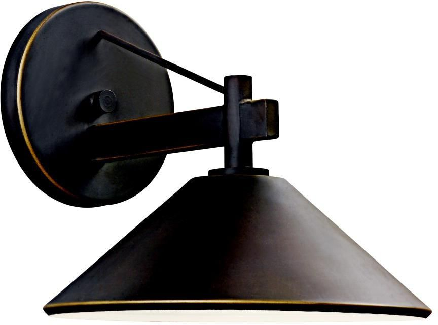 "Ripley Collection 9 1/2"" High Dark Sky Outdoor Wall Light -"