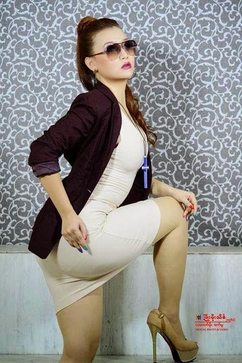 Hot Photo Album Of Myanmar Girl, Thun Sett - Sexy Myanmar -9409