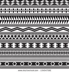 African Patterns Black And White Google Search Seamless