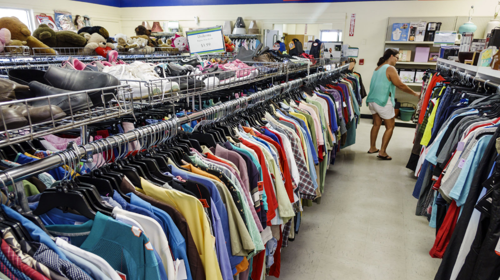 The Best Thing You Can Do Is Not Buy More Stuff Says Secondhand Expert Thrifting Secondhand Second Hand Clothes