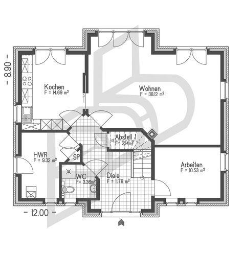 Wohnhaus vom Typ Friesenhaus Nr. 10022 von parc bauplanung