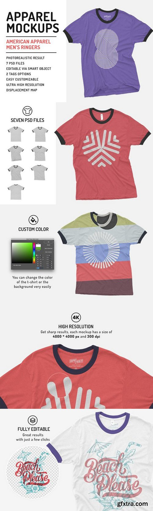 Download Cm Men S Ringers T Shirt Mockup 1518249 Clothing Mockup Shirt Mockup Tshirt Mockup