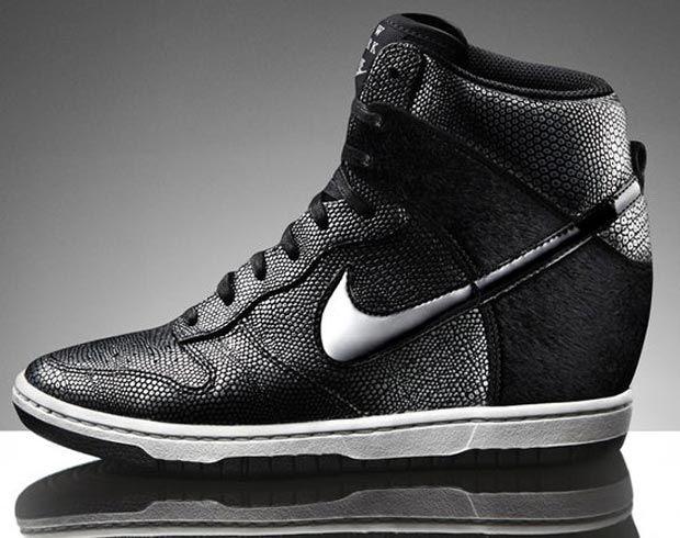 09fa7b2f301f Nike Dunk Sky High wedge sneakers New York I m in Love.