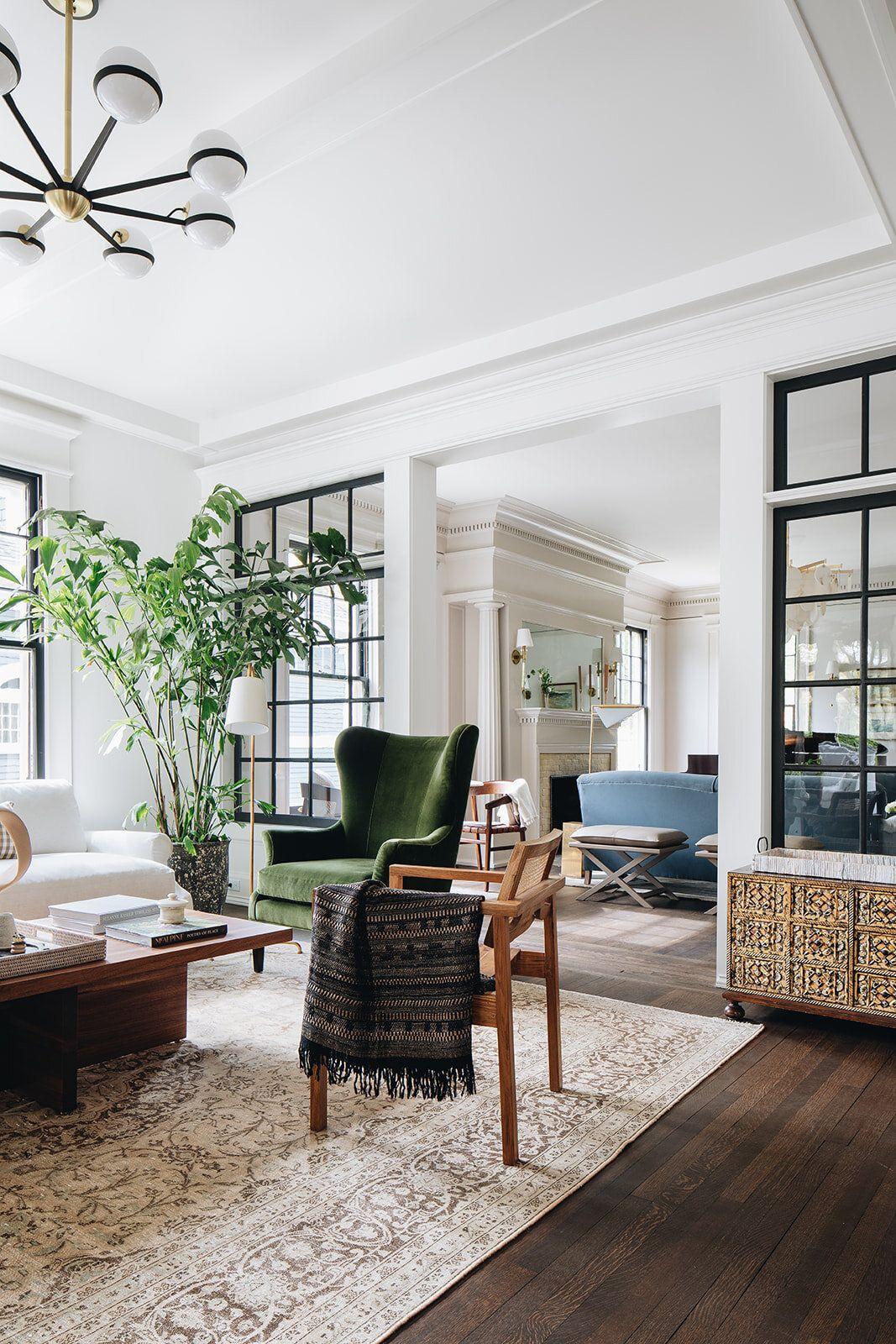 Photo of The Madison Modern Vintage Feel Living Room