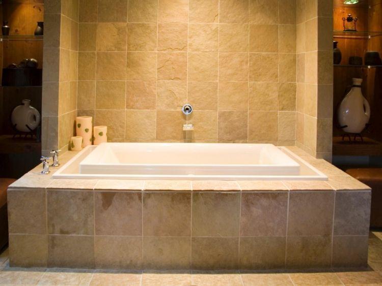 Badewanne Einmauern Mit Ablage U2013 35 Ideen Und Anleitung #ablage #anleitung # Badewanne #