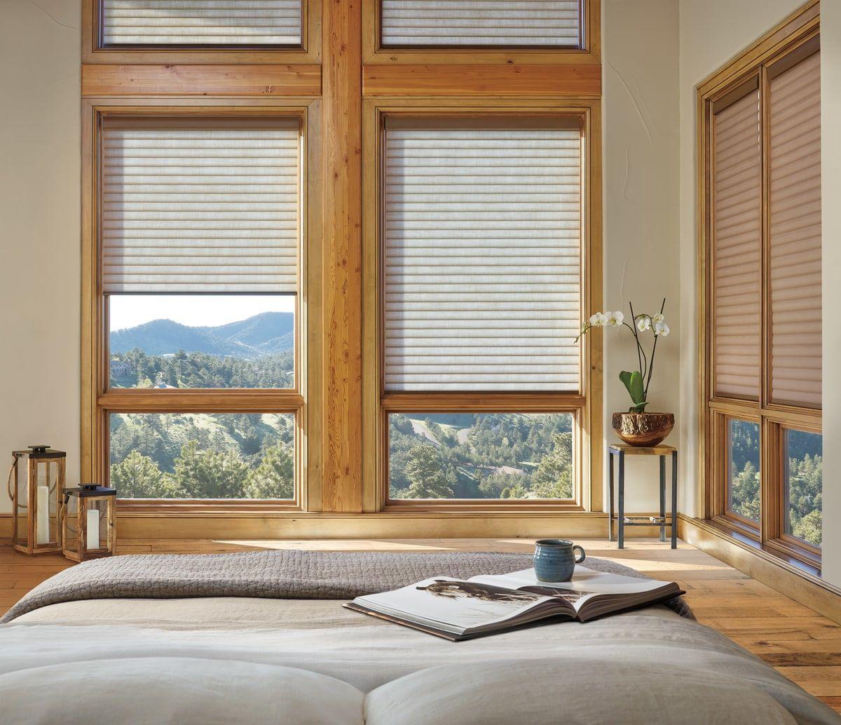 Dining Room Window Blinds Adorable Hunter Douglas Sonnette Cellular Roller Shades Hunter Douglas Review