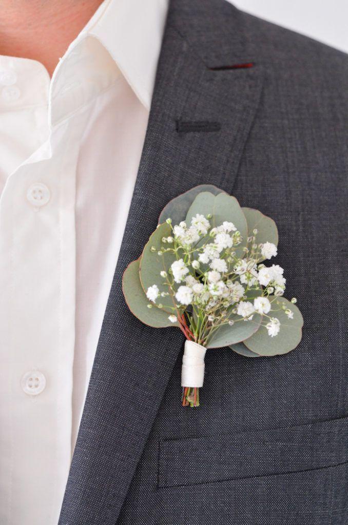 Eukalyptus-Hochzeit – Teil 1: Brautstrauß selber binden #flowerbouquetwedding
