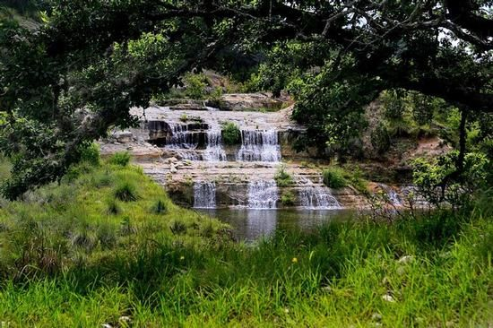 A Beautiful Landscape In Boerne Tx Texas Hill Country