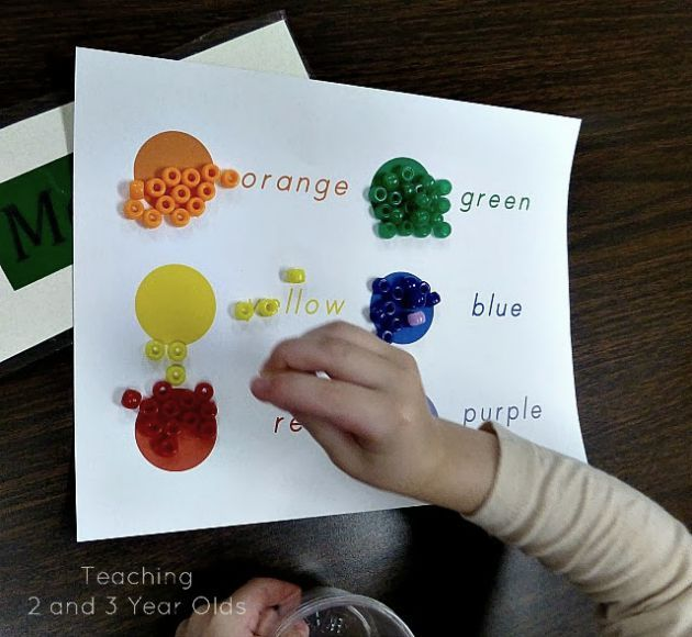 preschool color activities - Colour Games For Preschool