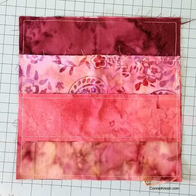 Quilt Block Hidden Wells In Batiks Tutorial