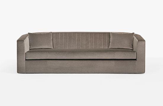 Dee Sofa Holly Hunt Art Deco Sofa Sofa Furniture Upholstered