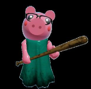 Chapter 3 Gallery Bot Skin Roblox Piggy In 2020 Piggy Super Happy Face Roblox