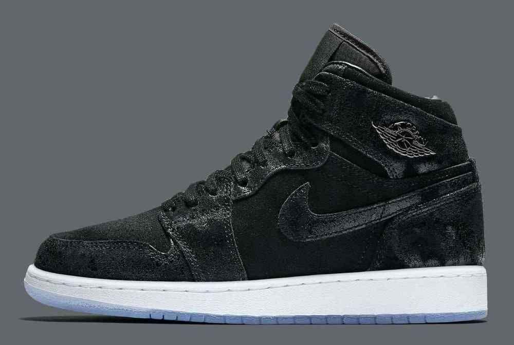 eb1cf6348f3 Nike Air Jordan 1 Retro High PREM HC GG Heiress Black Suede 832596-001 SZ  7Y  fashion  clothing  shoes  accessories  kidsclothingshoesaccs  boysshoes  (ebay ...