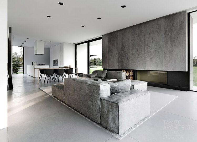 offene Räume - Küche, Ess- und Wohnbereich | lago nuovo | Pinterest | {Moderne innenarchitektur küche 7}