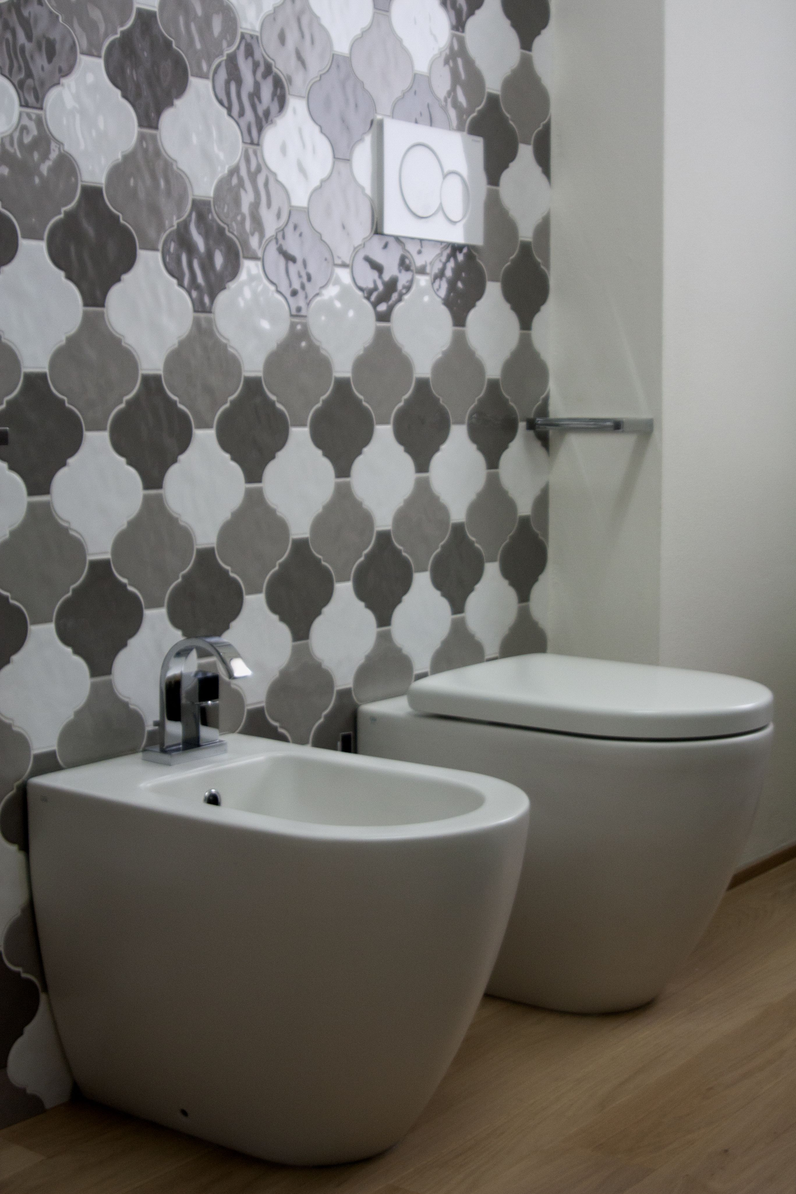 Mosaic liners art pattern mirrorred bathroom wall discount tiles - Home Tonalite Tiles Tonalite