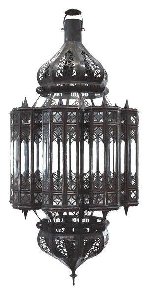 Large Moroccan Light Fixture Mamounia Style 95000