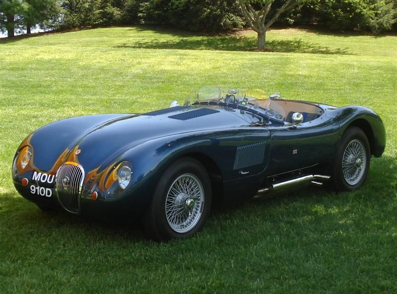 A Jaguar Ctype won the LeMans 24hour race in 1951 and