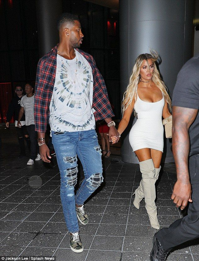 dc527bef058 Dinner time  It seems Khloe has introduced Tristan to her inner circle