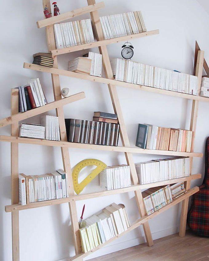 110 idees de etageres bibliotheques en