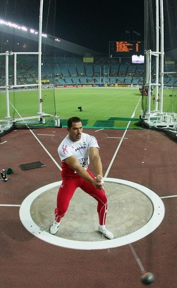 Koji Murofushi - Japan. Hammer Throw. Olympics 2012