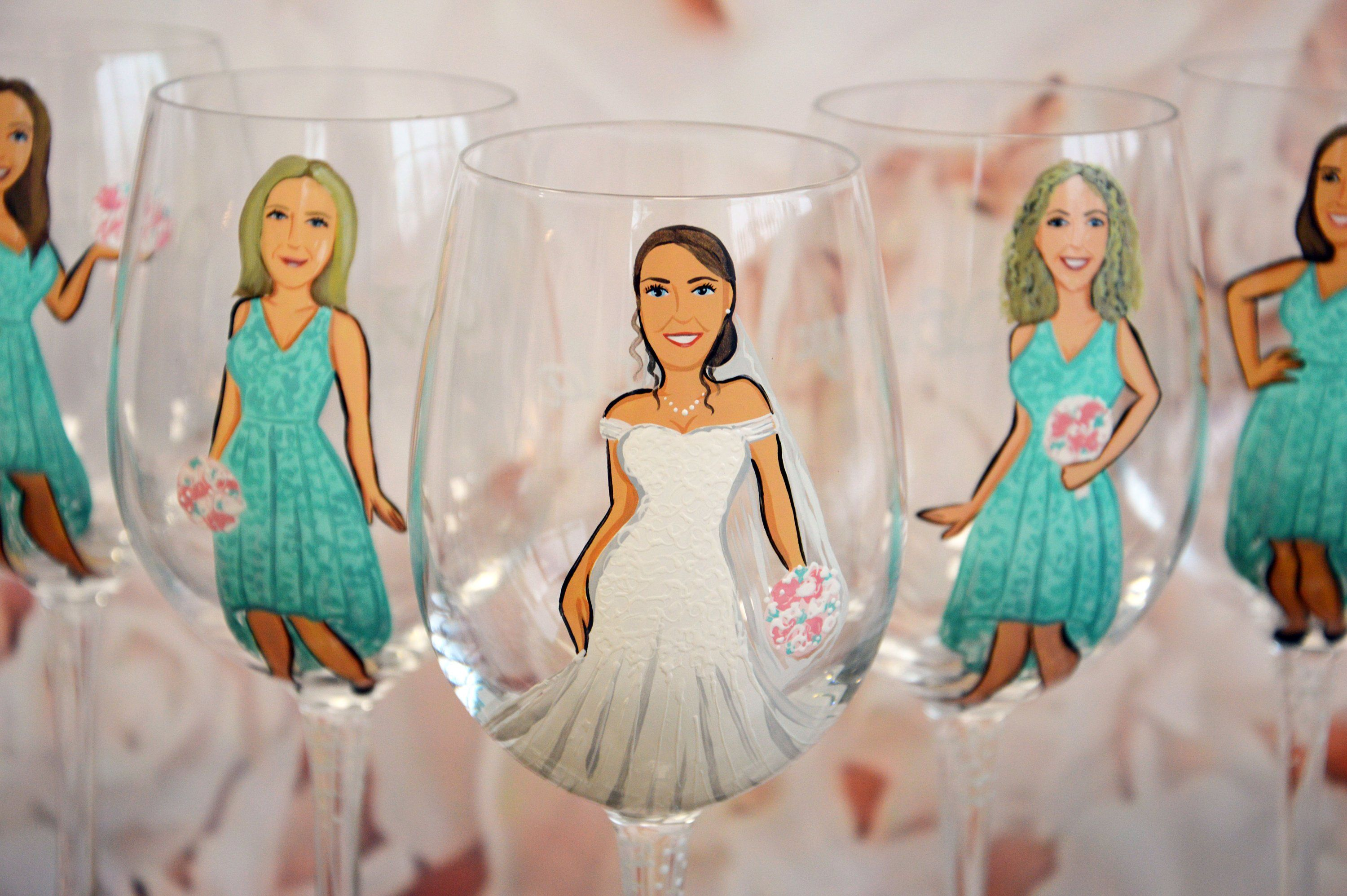 Bridal shower party bachelorette party bridesmaid gifts