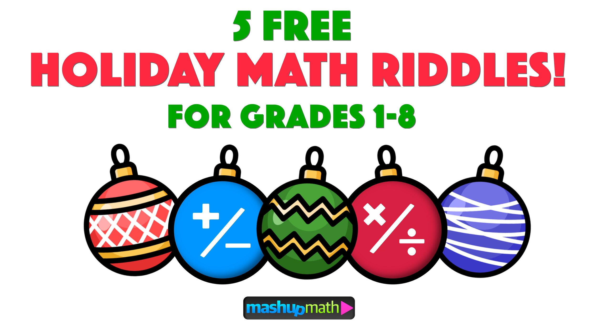 5 Fun Christmas Math Riddles And Brain Teasers For Grades 1 8 Mashup Math Math Riddles Christmas Math Worksheets Christmas Math [ 1406 x 2500 Pixel ]