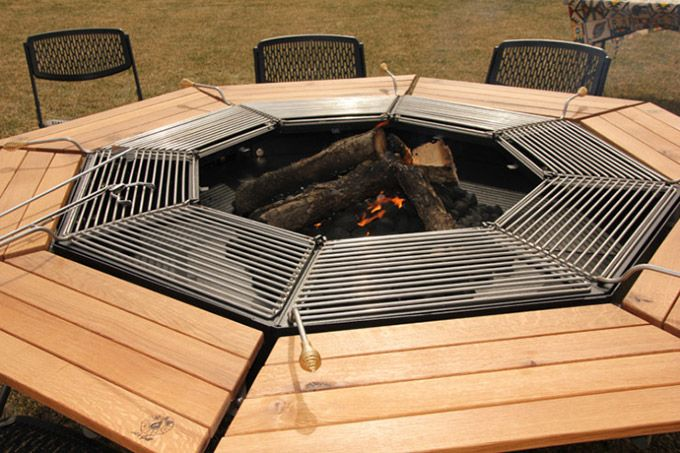 Fire Pit Cooking Rack Jag Grill Bbq Table