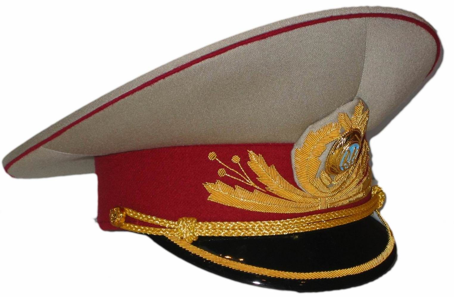 Ukrainian police generals  parade uniform visor cap  912051ba36b
