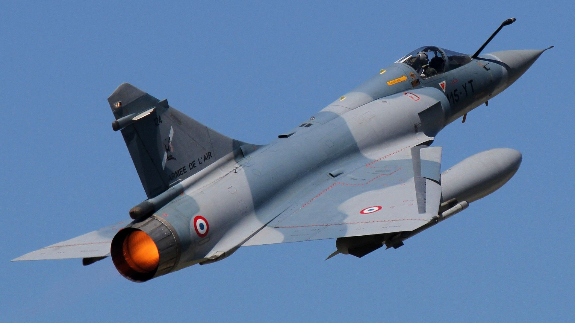 The Dassault Mirage 2000 is a French multirole, single-engine fourth