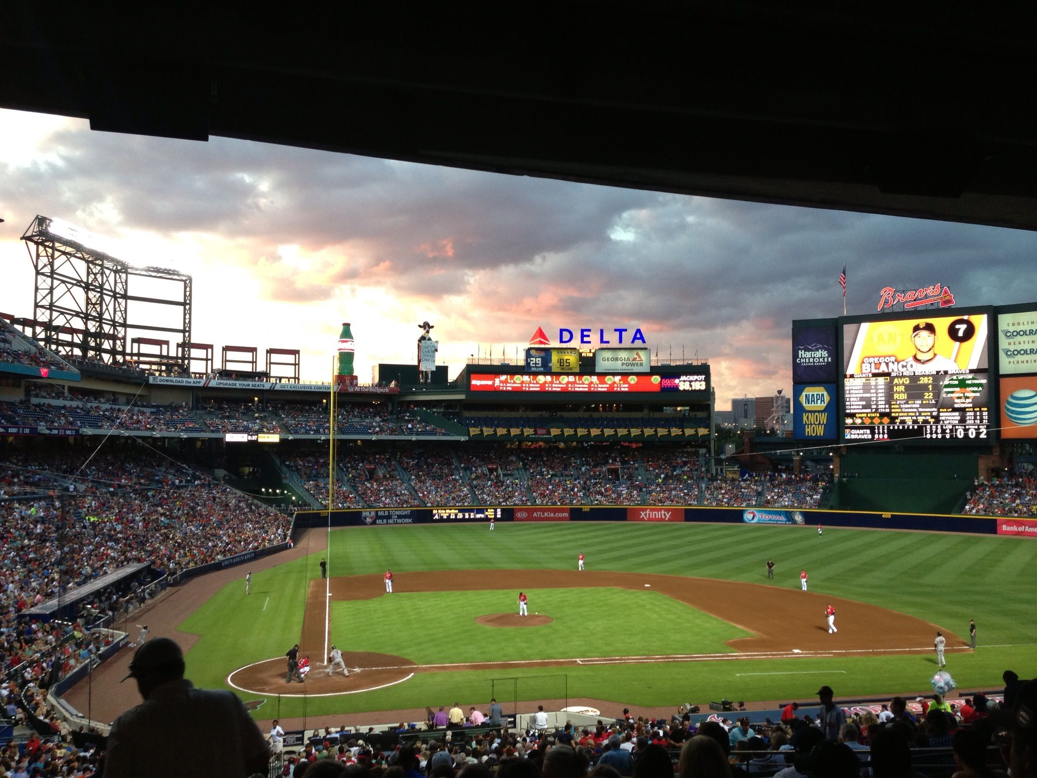 Pin By Lamar Gray On Travels Atlanta Braves Braves Game Atlanta Braves Game