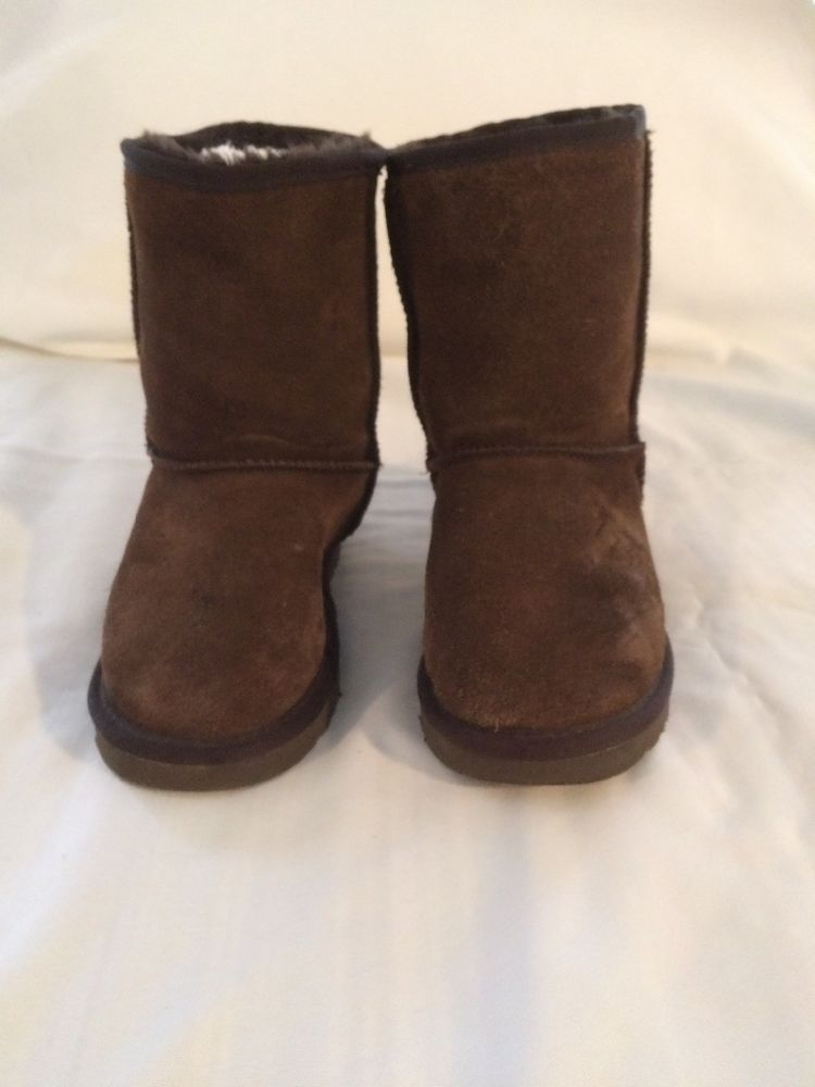 3914a0c938d Ugg Boots Chocolate Short Size 6 #fashion #clothing #shoes ...