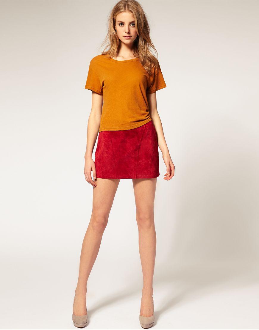 Sexy micro mini skirts