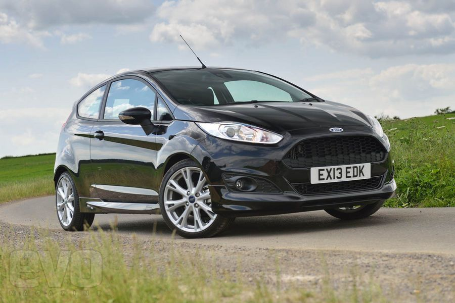 2013 Ford Fiesta 1 0 Ecoboost Zetec S Panther Black Front Ford
