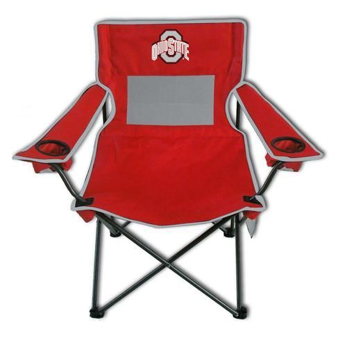Ohio State University Buckeyes Deluxe Arm Chair - Camping Chair