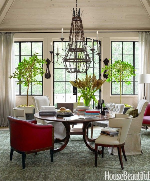 House Beautiful Dining Rooms Fair Why I Like This Room A Stylish & Practical Dining Room  House . 2017