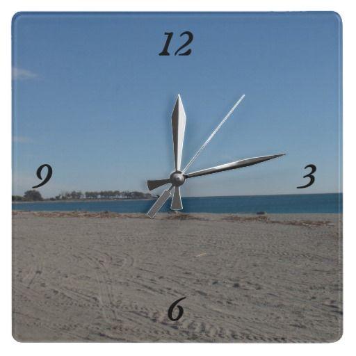 Beach in Almeria Spain Wall Clock