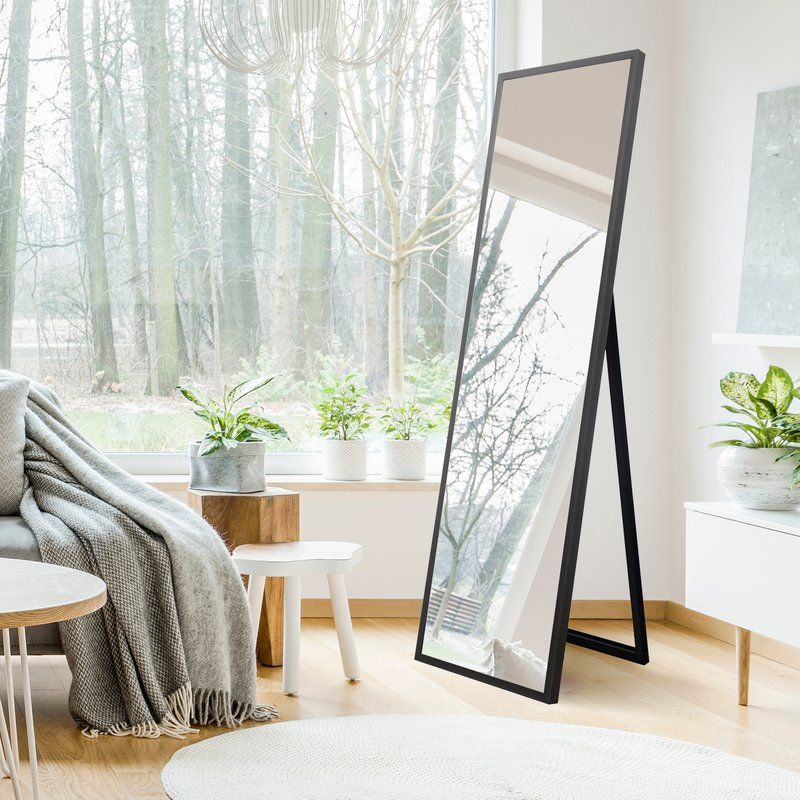 Haggerty Free Standing Full Length Mirror | apartment in 2019