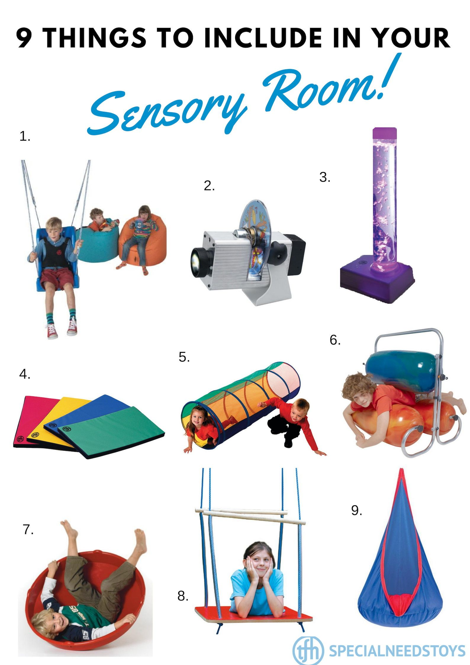 Sensory Integration Room Design: The First Step In Creating A Sensory Space Is To Consider
