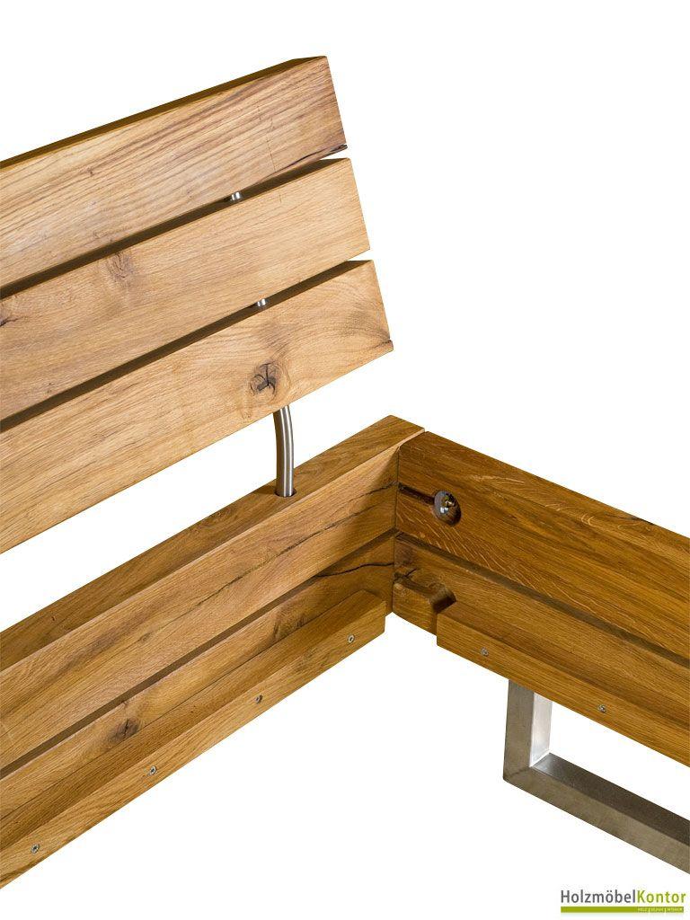Massivholzbetten design  Traumhafte Design #Massivholzbetten im www.holzmoebelkontor.de ...